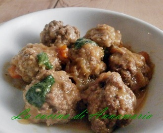 Polpette light in finta genovese