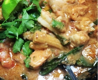 Thai Peanut Fish Curry