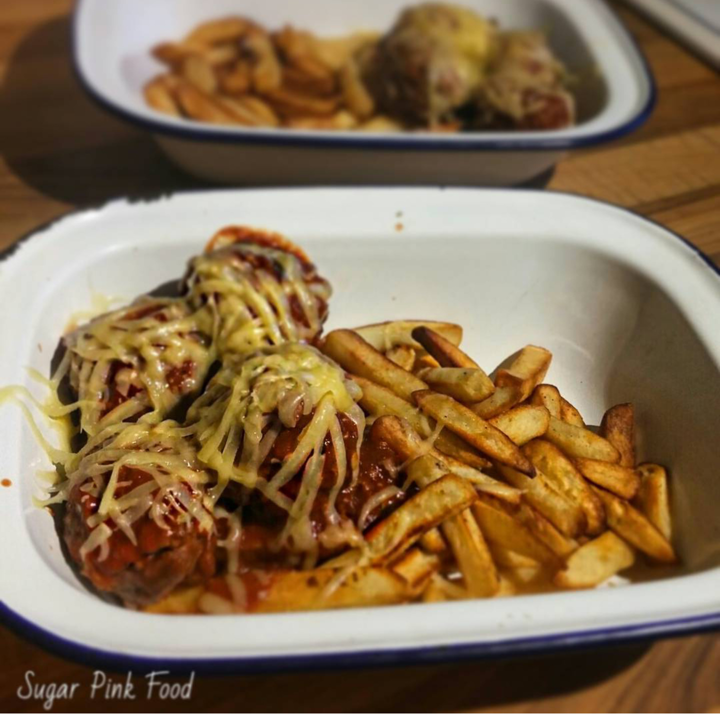 Slimming World Friendly Recipe:- BBQ Meatball Fries