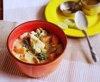 Basa Fish and Sweet Potato Curry