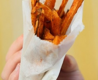 Bataattiranskalaiset - Sweet potato fries