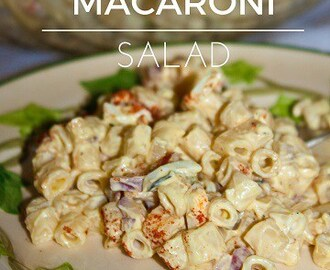 Pasta of the Month – Macaroni Salad