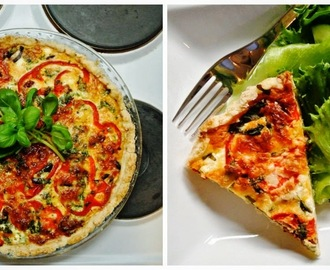 Easy as... gluten-free Mediterranean pie