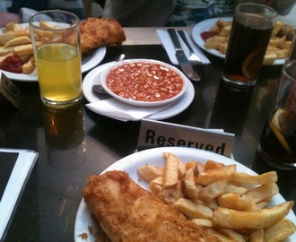 The Best Fish and Chips in Brighton, possibly the World