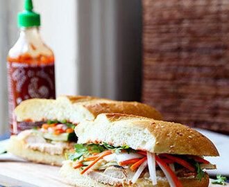Chicken Banh Mi Sandwich Recipe