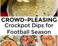 Crockpot Dips for Football Season