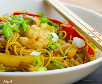 Syn Free Speedy Singapore Noodles | Slimming World