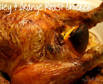 Orange & Parsley Whole Roast Chicken