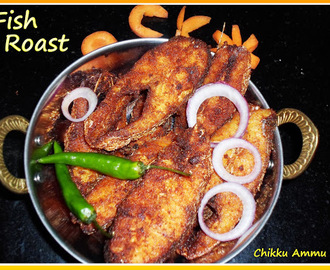 Fish Roast Recipe / Fish Fry Recipe