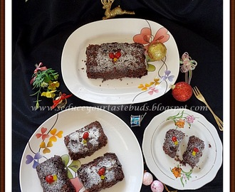 Eggless Microwave Rich Dark Fruit Cake