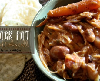 Crock Pot Smoked Turkey Chilli Recipe
