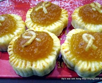 Cream Cheese Pineapple Tarts For The Chinese New Year