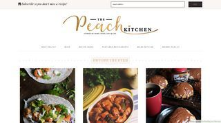 The Peach Kitchen