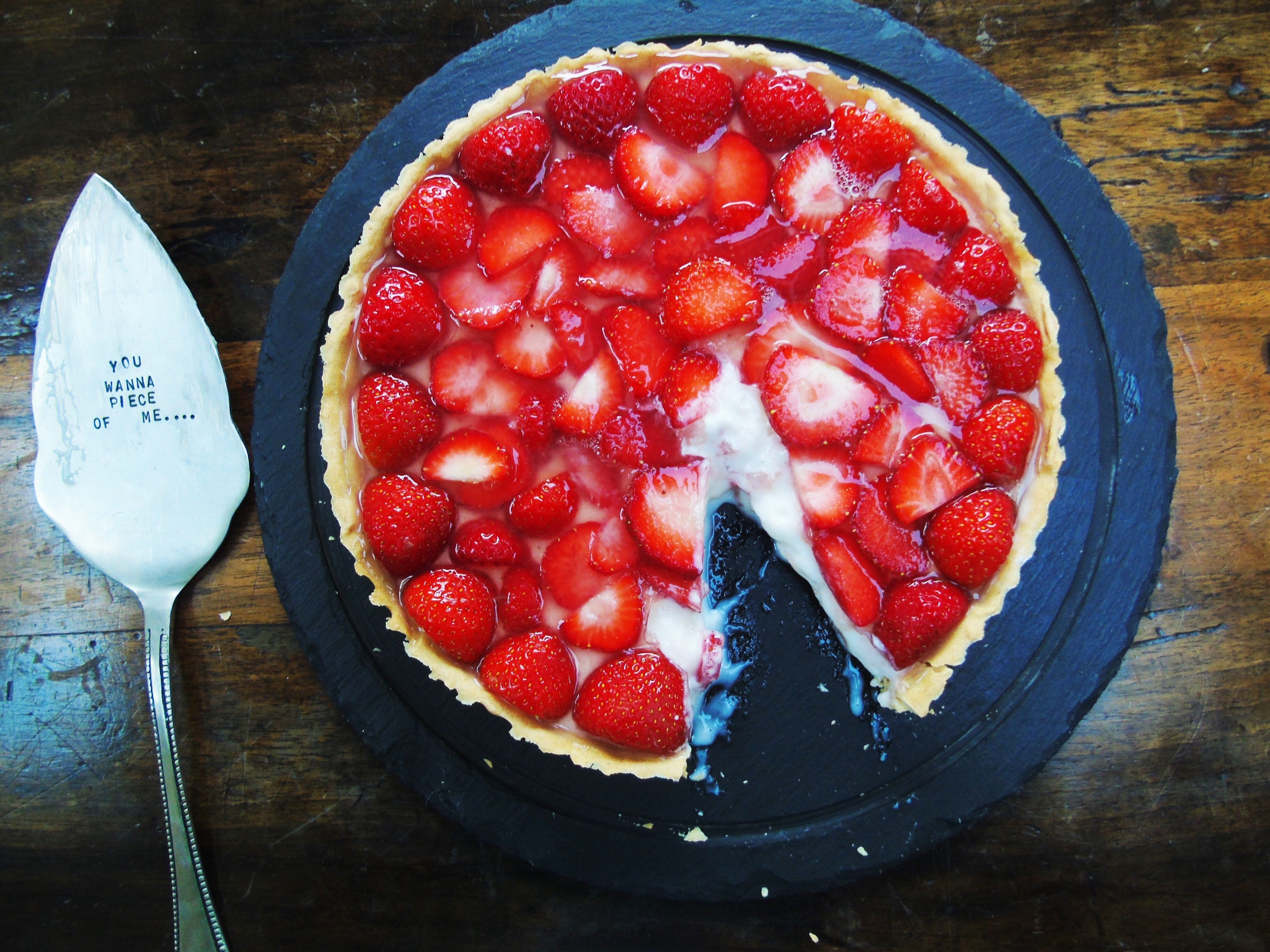 Strawberry Tart with Low Syn Homemade Pastry | Slimming World