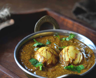 Mustard Egg Curry - without Tomato & Coconut