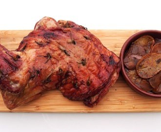 Slow roast shoulder of Lamb