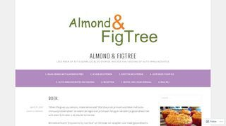almondfigtree | A fine WordPress.com site