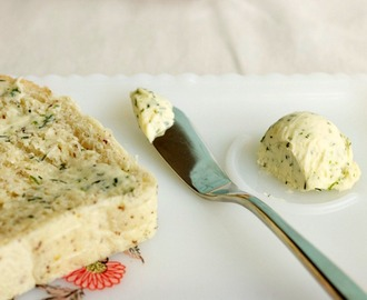 Garlic, Dill, and Lime Compound Butter