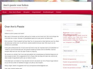 Ann's passie voor koken | There is no love sincerer than the love of food