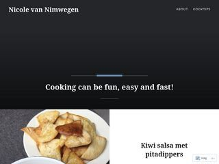 Nicole van Nimwegen | Cooking can be fun, easy and fast!