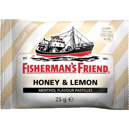 Fisherman's Friend Fishermans Friend Honey & Lemon 25 g