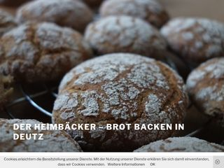 der heimbäcker – brot backen in deutz
