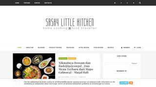 Sashy Little Kitchen