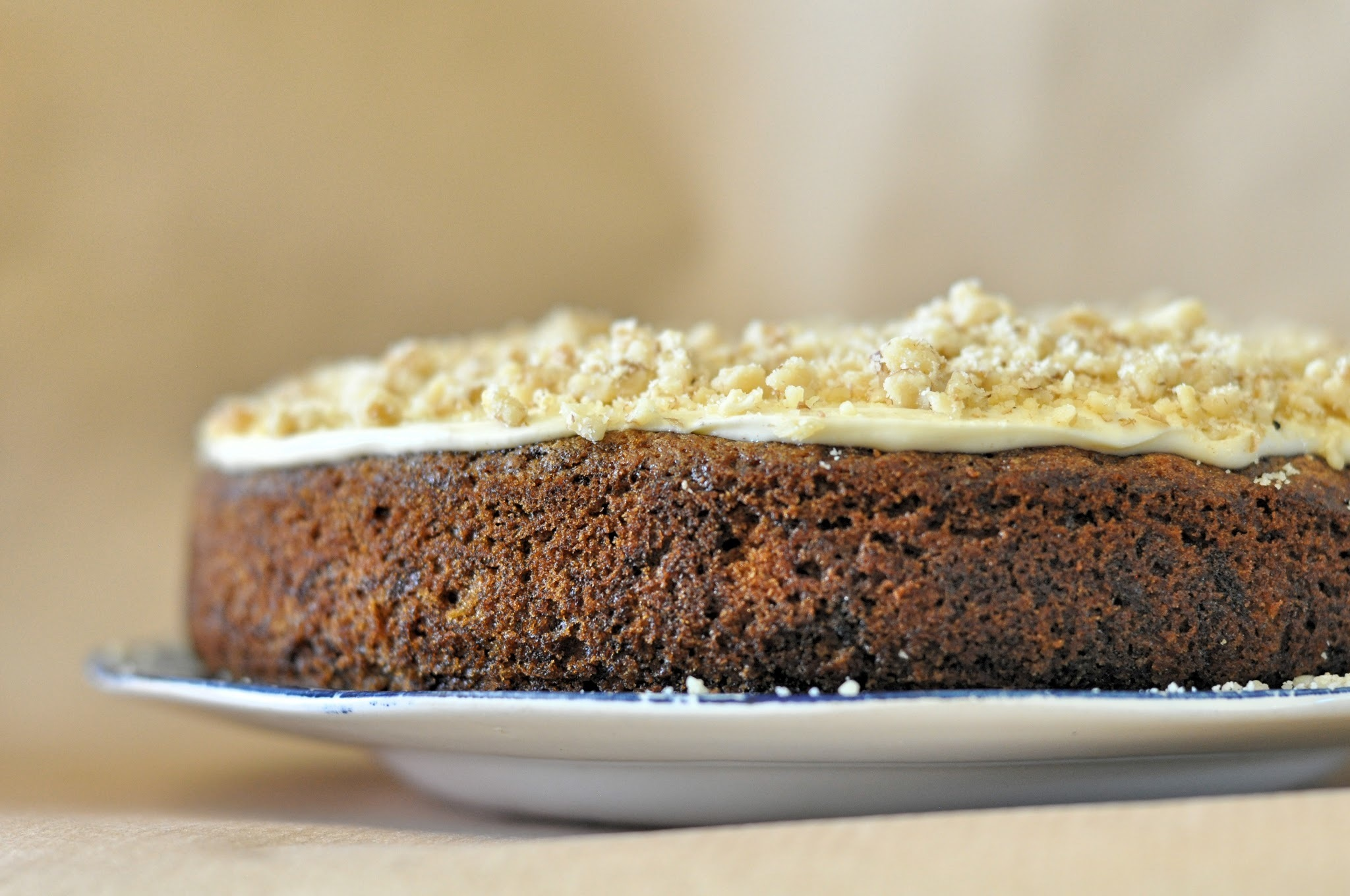 Recipe: Speculoos Carrot Cake