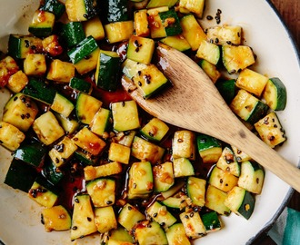 Recipe: Michael Natkin's Spicy Stir-Fried Zucchini