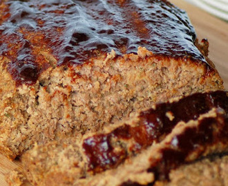 The Best Ever Meatloaf with Balsamic Glaze