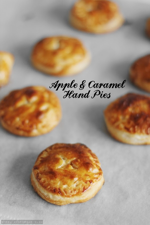 Quick & Easy Apple Caramel Hand Pies...!