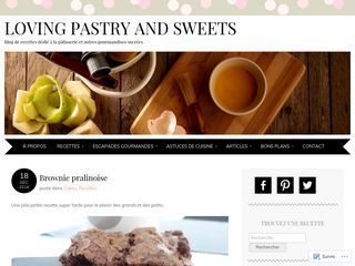 Loving Pastry and Sweets | Mon Blog Pâtisserie et Gourmandises