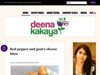 Deena Kakaya Vegetarian Cooking