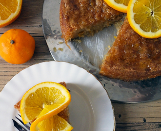 Tunisian Orange Cake