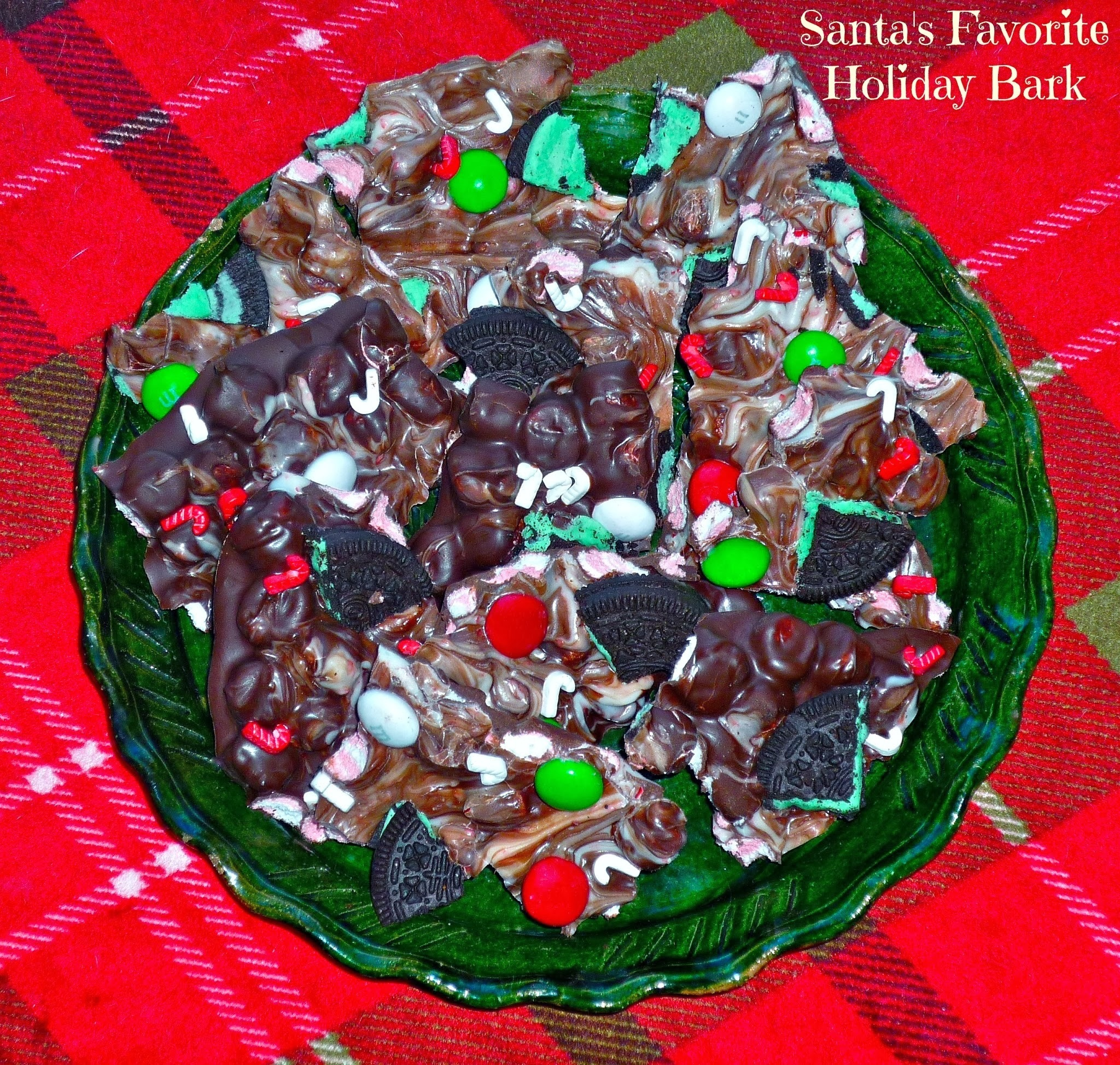 #ChristmasWeek Santa's Favorite Holiday Bark...and a #Freund Giveaway!