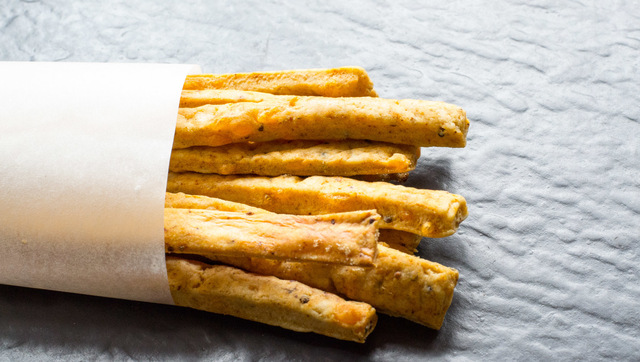 Vegan Cheese, Chilli and Mustard Straws