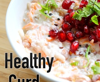 Curd Rice Recipe - Healthy Curd Rice For Weight Loss