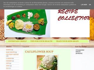 RECIPE COLLECTIONS