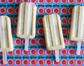 Toasted Coconut-Mango Creamsicles for #PopsicleWeek