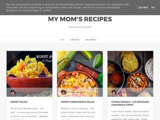 MY MOM'S RECIPES