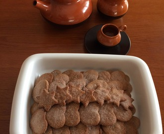Galletas integrales con canela