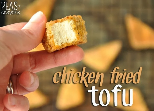 [BAKED!] Chicken Fried Tofu