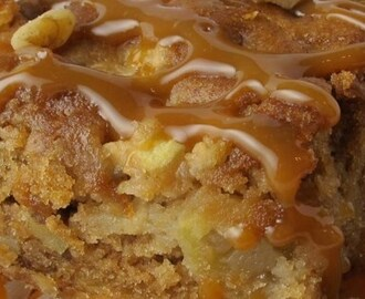 Fresh Apple Walnut Cake