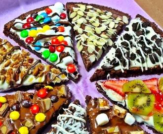 Pizza Brownie Receita.