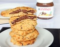 Nutella Oat Cookies