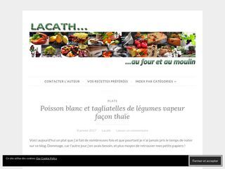 Lacath au four et au moulin