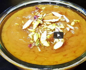 Wheat Flour Halwa Recipe Video