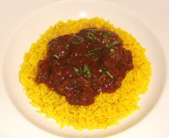 Shin Beef Rogan Josh with Turmeric Rice