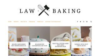 Law of Baking