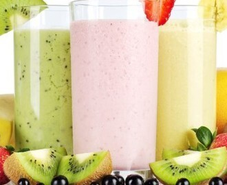 Receita de Vitamina de Frutas Light
